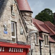 Roofline at Aboyne near Ballater