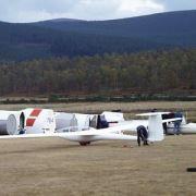 Gliding Club at Aboyne, Royal Deeside
