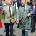 Visit by Prince Charles to Ballater Caravan Park